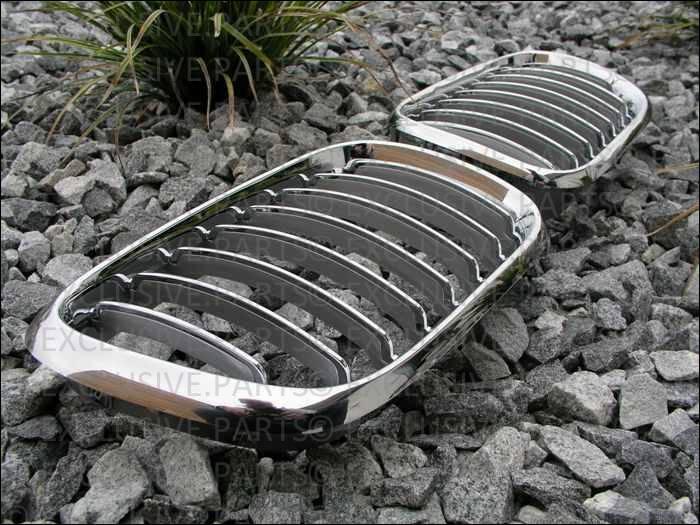 Bmw e53 x5 1999 2003 grillage calandre chrome ebay for Chrome line exterieur