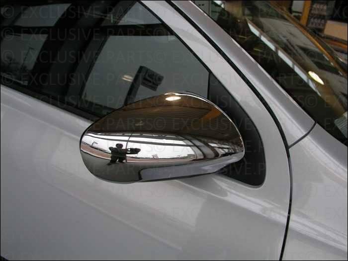 Nissan qashqai coques chrome de miroir retroviseurs ebay for Chrome line exterieur