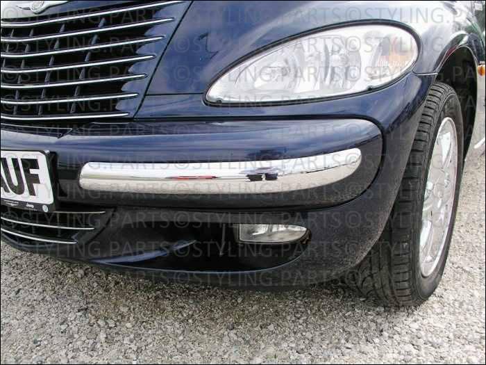 Pt Cruiser Bumpers : Chrysler pt cruiser  chrome horns bumpers trim