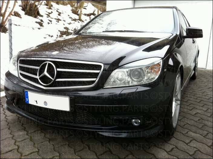 mercedes benz w204 c klasse 2007 k hlergrill grill in. Black Bedroom Furniture Sets. Home Design Ideas