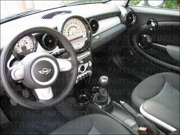 Mini one cooper s d r55 r56 innenraum cockpit interieur for Carbon interieur