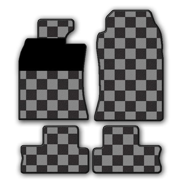mini one cooper s fussmatten schachbrett zielflagge. Black Bedroom Furniture Sets. Home Design Ideas