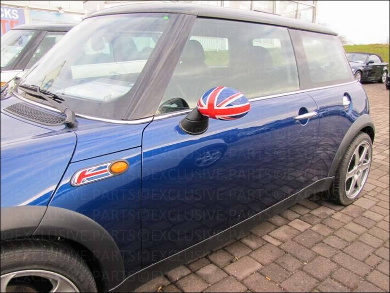 mini one cooper r50 r53 coques r troviseur union jack 3. Black Bedroom Furniture Sets. Home Design Ideas